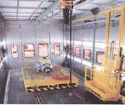 Large Equipment Custom Paint Booths