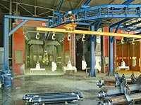 Industrial Powder Coating Paint Booths