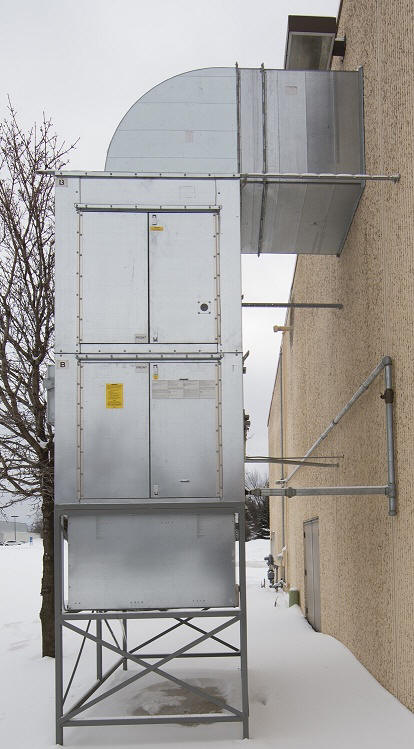 Industrial Air Makeup Units for Building Air Replacement